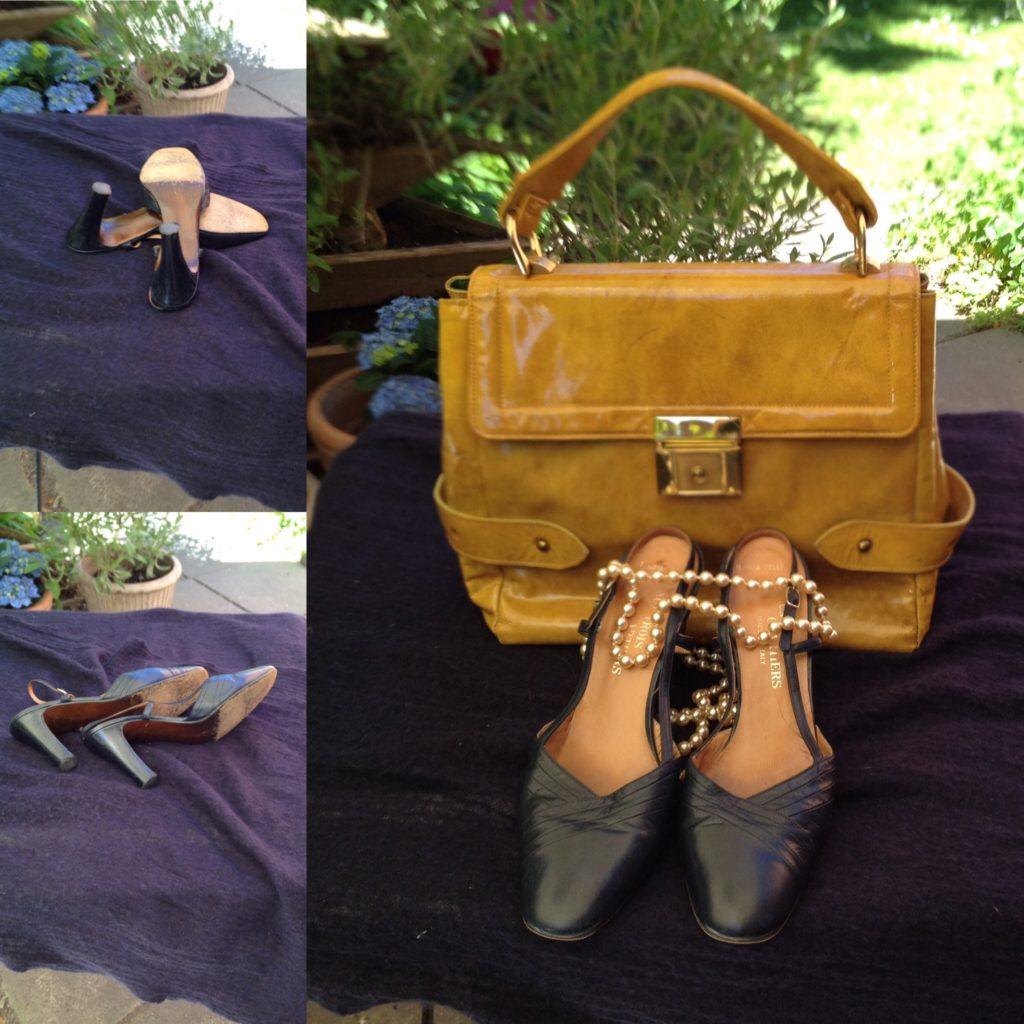 Vintagesko og accessories sælges