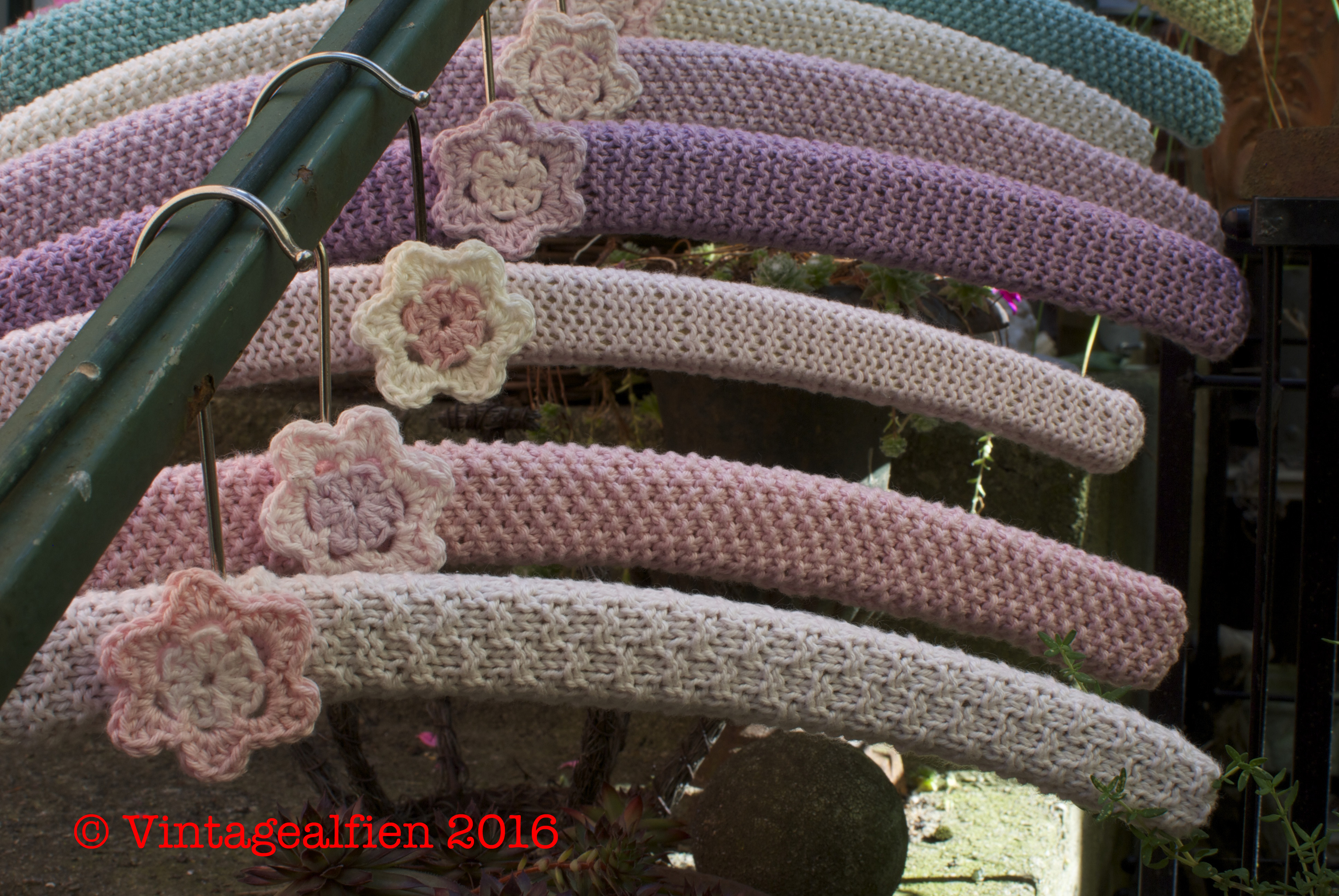 opskrift hæklede blomster