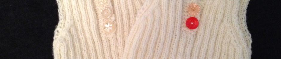 Babyundertrøje Opskrift diy: babyundertrøje i uld med vintageknapper - vintage alfienvintage