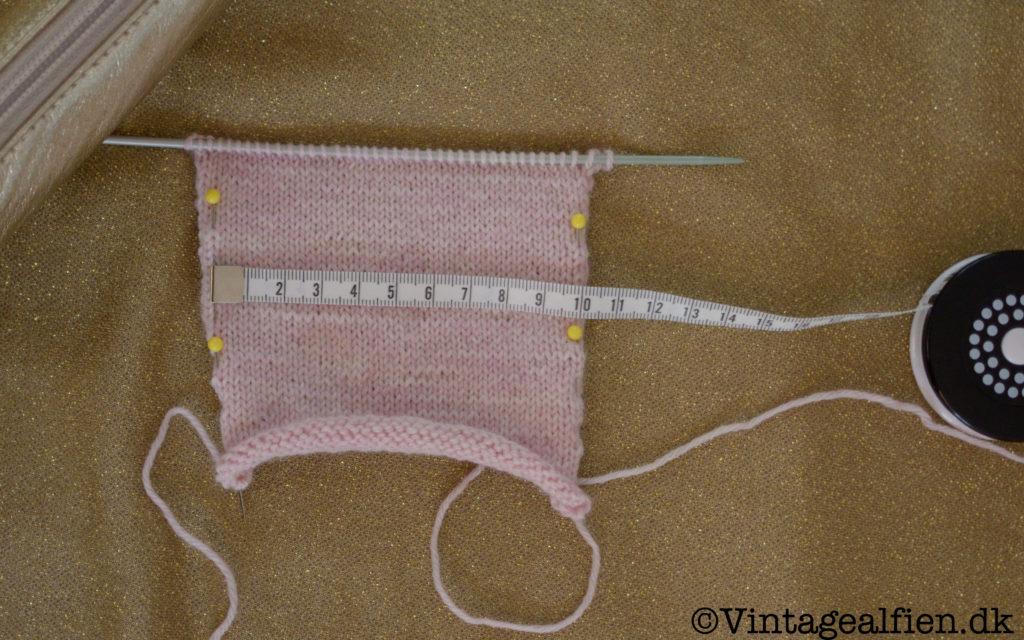 Teststrikker -strikkefasthed