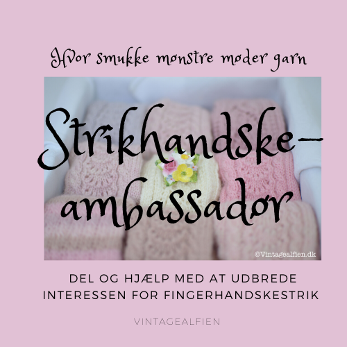 Badge strikhandskeambassadør