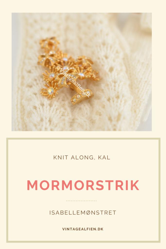 Mormorstrik er emnet for denne blogpost med det seneste handskemønster